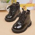 2016new Осень дети сапоги для верховой езды обувь Мальчики Девочки сапоги одиночные ботинки детская обувь