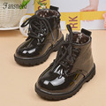 2016new Autumn  children riding  boots shoes Boys Girls boots single boots  baby shoes