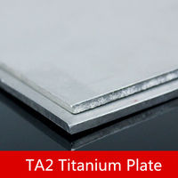 1PCS/lot TW045 Ultra Thin Titanium Alloy Sheet 200mm*200mm*3mm TA2 Titanium Plate Sell at a Loss Alloy Sheet