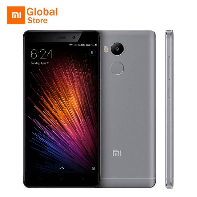 """Оригинал Xiaomi Редми 4 Pro Простые 3 ГБ RAM 32 ГБ ROM Мобильный Телефон Snapdragon 625 Octa Ядро 5.0 """"FHD 13MP Камера"""