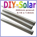 0.5Kg Solar Cells PV Ribbon 0.15 * 1. 6mm Precut Leady Solar Tabbing Wires, Leady PV Ribbon, to be cutted any length mono poly