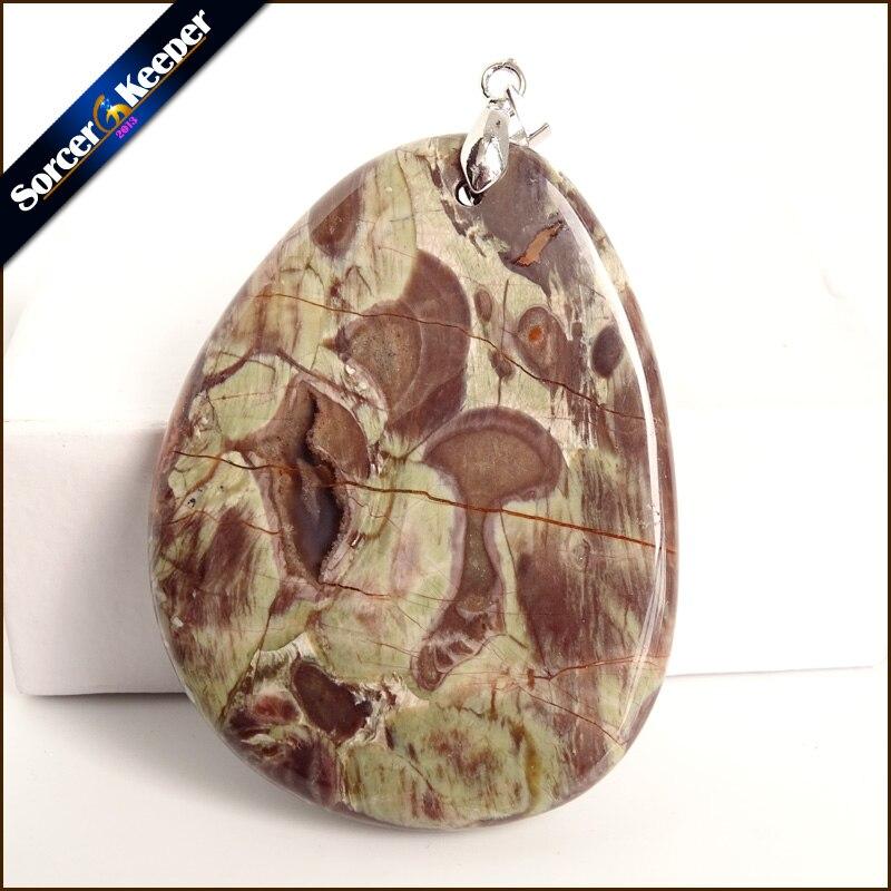 72fe8a965a75 Moda Real hombres colgante verde viejo KAMBABA cuentas de piedra Natural  para la fabricación de ...