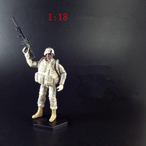 Image 4 - [6 pçs/lote 1:18 o 101th airborne eua amry figura de ação soldados articulações brinquedos móveis nova caixa