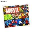 FVIP Cartera de Marvel Comics Heroes Thor Hulk Cosa Deadpool X-man gears of War Carteras Cortas Con Titular de la Tarjeta Monedero de La Gota gratis