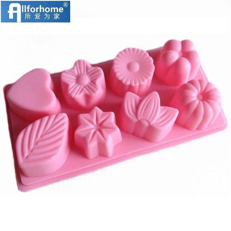 3D Silicone Cake Mold Baking Decorating DIY Handmade Soap Mould Bakeware  US