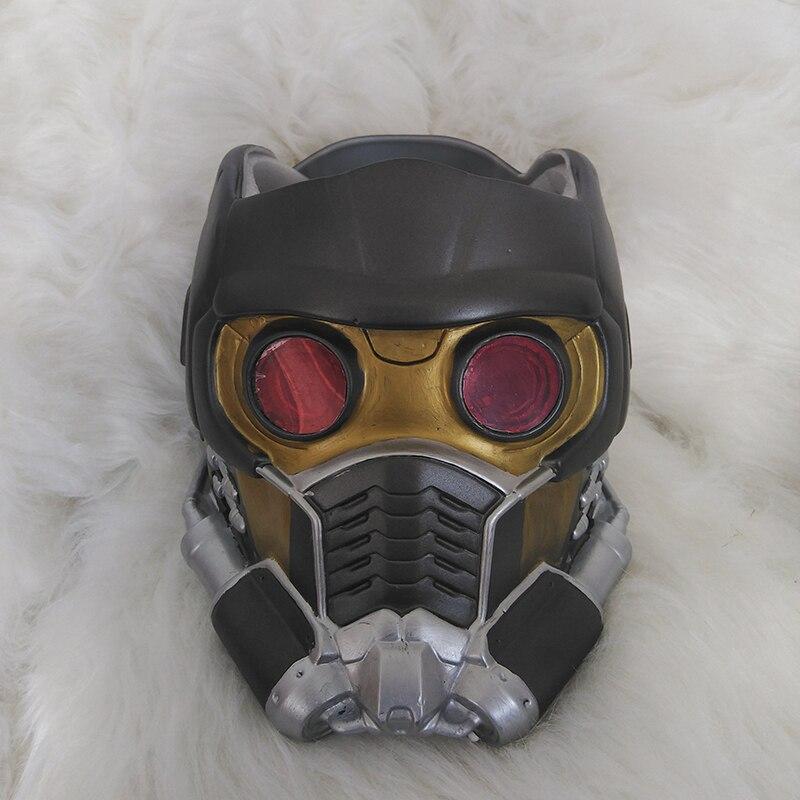Très Guardians Of The Galaxy Vol. 2 Star Lord Helmet Cosplay Latex Mask  FF65