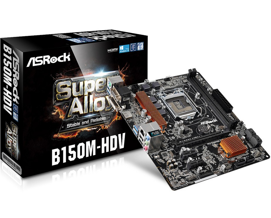 new original motherboard for ASRock B150M HDV LGA1151 all solid DDR4