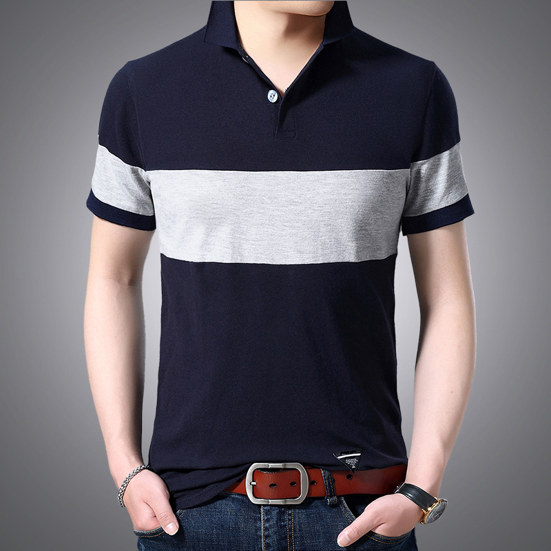 Summer   Polo   Shirt Men Brand Short Sleeve   Polo   Shirt Men Fashion   Polos   Casual Business   Polo   Homme Mens High Quality Shirts