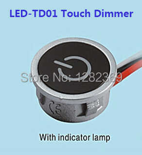 12V Touch LED Dimmer Touch Memory Continuous Dimmer For LED Lighting Input 8Vdc~24V DC Constant Current Max. 700mA 2018 New Hot