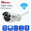 Onvif IP Camera WIFI Megapixel 720P HD Waterproof IP66 Wireless Security CCTV Cam Infrared SD Card Slot P2P Bullet Kamera