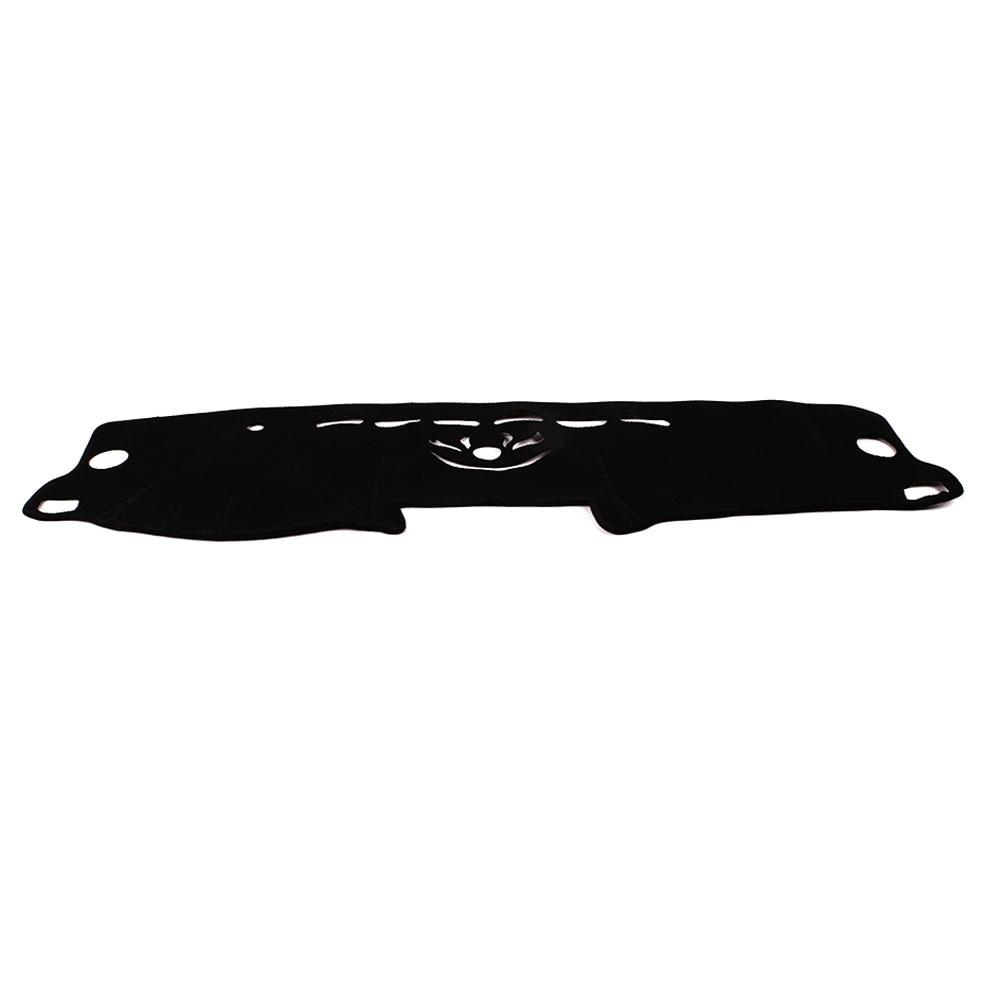 Vehemo силиконовый Противоскользящий коврик для приборной панели Солнцезащитная Накладка для машины Pad автомобильные аксессуары запчасти для двигателей для левого водителя сиденья приборной панели Крышка черный