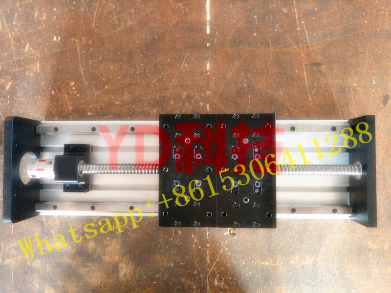 High Precision GX155*150 Ballscrew 1610 200mm Travel Linear Guide+ Nema 23 Stepper Motor CNC Stage Linear Motion Moulde Linear high precision gx155 150 ballscrew 1605 100mm travel linear guide nema 23 stepper motor cnc stage linear motion moulde linear