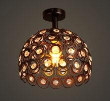 Lâmpada do teto de cristal moderna sconce k9 lâmpadas lustre escada corredor foyer sombra lâmpada com lâmpadas led frete grátis