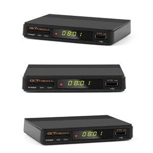 Image 5 - Gt media fta DVB S2 receptor de tv por satélite v7s hd 1080 p suporte youtube powervu com usb wifi + 1 ano cccam linhas de freesat v7
