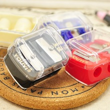 1 PC Cosmetic Brush Pencil Sharpener Cut knife Cosmetic Special Cutter( Random color)
