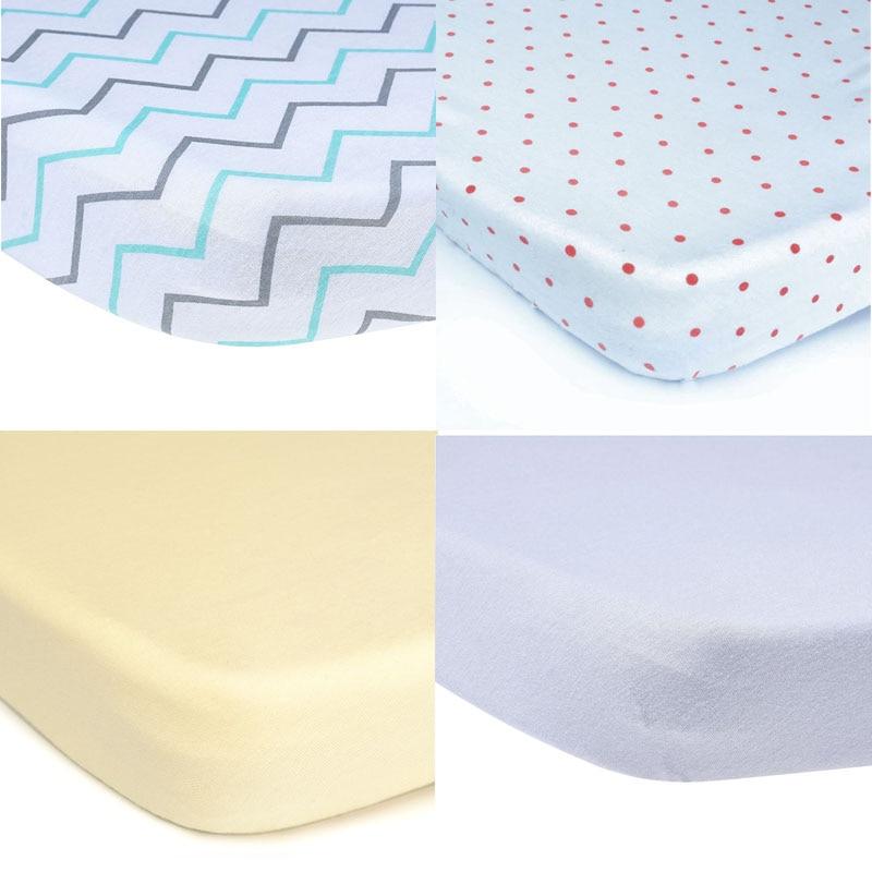EGMAO BABY Cotton Fitted Toddler Girl or Boy <font><b>Bedding</b></font> Set 100% Organic <font><b>Crib</b></font> Sheet <font><b>for</b></font> Standard <font><b>Crib</b></font> and Toddler Mattresses