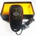 Кожа Автомобилей Smart Key чехол автозапуск Shell держатель БРЕЛОК подходит Для Subaru Outback Forester XV 16 Наследие Дистанционного 3 Кнопки