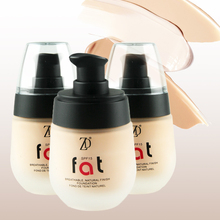 ZD 1Pc Professional Face Full Cover Cream Foundation Fix Fluid Sunblock SPF15 Concealer Whitening Moisturizing Oil-control B8012 mac studio fix fluid foundation тональная основа spf15 nc42