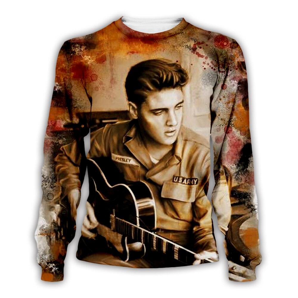 PLstar Cosmos Elvis Presley/guitar 3D Print Hoodie/Sweatshirt/Jacket/Men Women Hip Hop Apparel