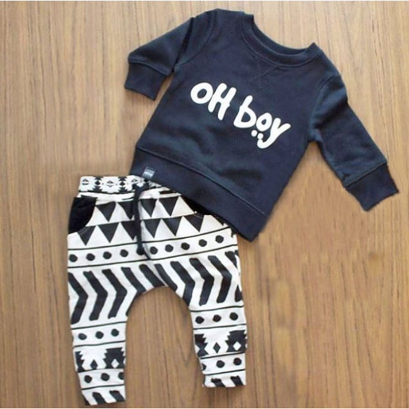Aliexpress Buy 2017 Autumn baby boy clothes set