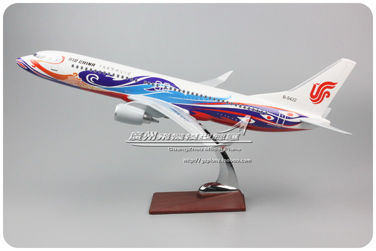 45cm Resin Air China Airlines Airplane Model Boeing 737-800 Aircraft Model B737 Phoenix Airways Airbus Aviation Model Toy B-5422 inflight china southern airlines b 5157 1 400 b737 800 commercial jetliners plane model hobby