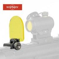WIPSON 新エアガン Riflescopes レンズプロテクターエアガンレッドドットサイトスコープ RiflescopeTransparent 防弾レンズプロテクター -