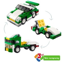 DECOOL Mini 3 in 1 Speeder Bouwstenen Sets Bricks Kinderen Model Kinderen Stad Creator Speelgoed Marvel Compatibele Legoings Duplos auto