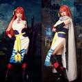 JP Anime Gintama Sakata Gintoki Cosplay Costume Halloween Dress Adults Kagura Cosplay Kimono for girl