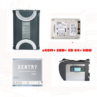 For Benz eCOM DoIP Diagnosic Tool with 256G SSD and MB SD Connect C4 with 2019.3 Xentry Software HDD