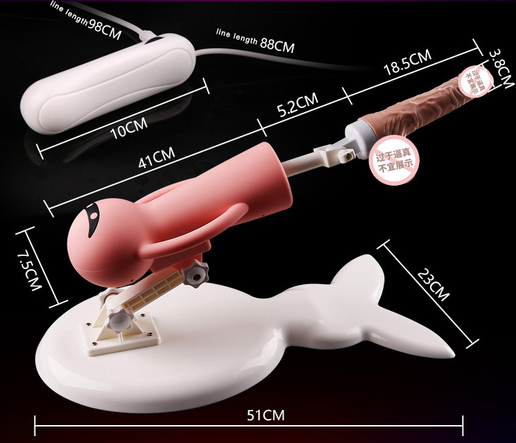 New Sex Machine Vibrator Automatic Retractable Thrusting Female Masturbation Pumping With Dildos Anal Plug Sex Toys for Women 7