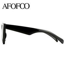 AFOFOO Fashion Women Sunglasses Cat Eye Glasses Lady Brand Designer Retro Sun glasses UV400 Shades Eyewear Oculos de sol