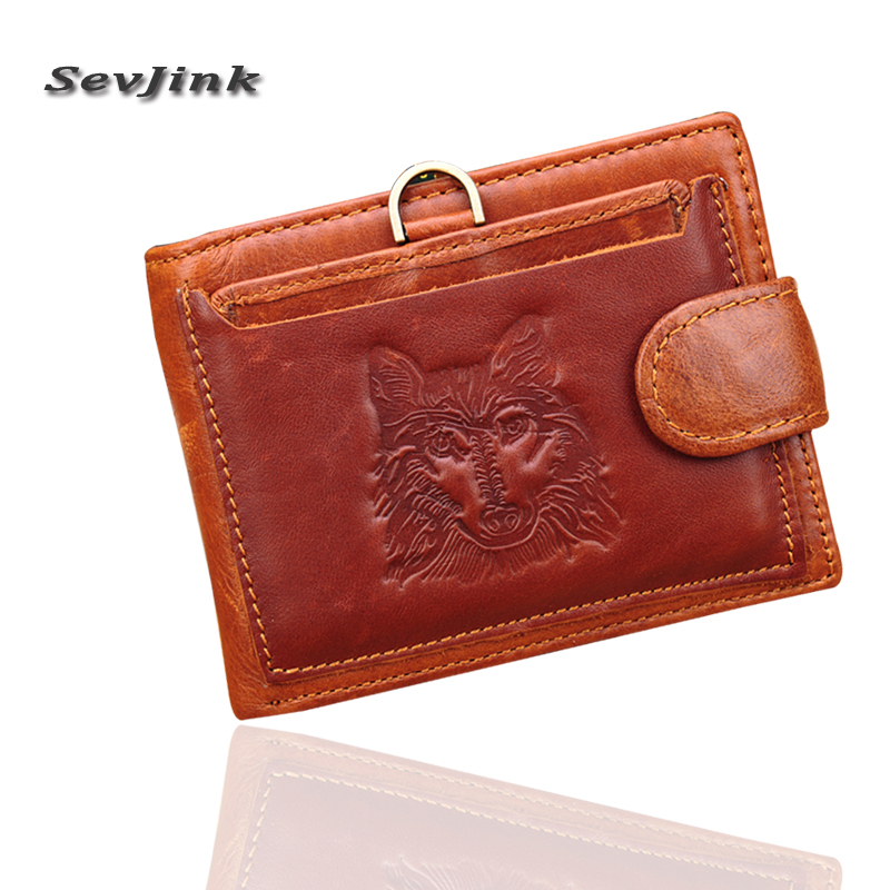 100% Real Genuine Cowhide Leather Men wallets Short Bifold Wallet Wallets Purse Coin Pocket Male Zipper wallet simline fashion genuine leather real cowhide women lady short slim wallet wallets purse card holder zipper coin pocket ladies