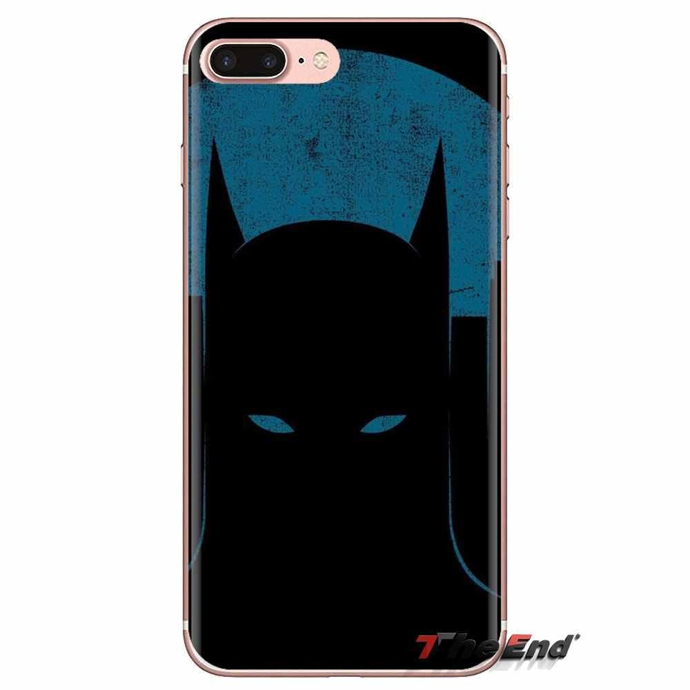 Siyah Batman 2 Şeffaf Yumuşak Kılıfları Xiao mi mi 4 mi 5 mi 5S mi 6 mi a1 A2 5X6X8 9 Lite SE Pro mi Max mi x 2 3 2S