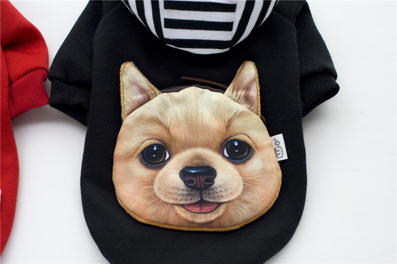 Pallto pambuku dimri qen FA35 dhe Sweatshirts prej kadifeje - dizajn - Produkte për kafshet shtëpiake - Foto 5