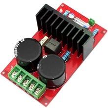 IRS2092 IRFB4227 350W Mono High Power Amplifier Board (DC Power Supply) YJ00153 2 channel l20 se power amplifier finished board transistor amplifier board a1943 c5200 350w 350w