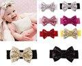 Crianças Meninas Do Bebê Bebe Crianças Supremo Lantejoula Bowknots Acessórios Para o Cabelo Banda Cocar Headwear Faixa de Cabelo Acessórios Headwear