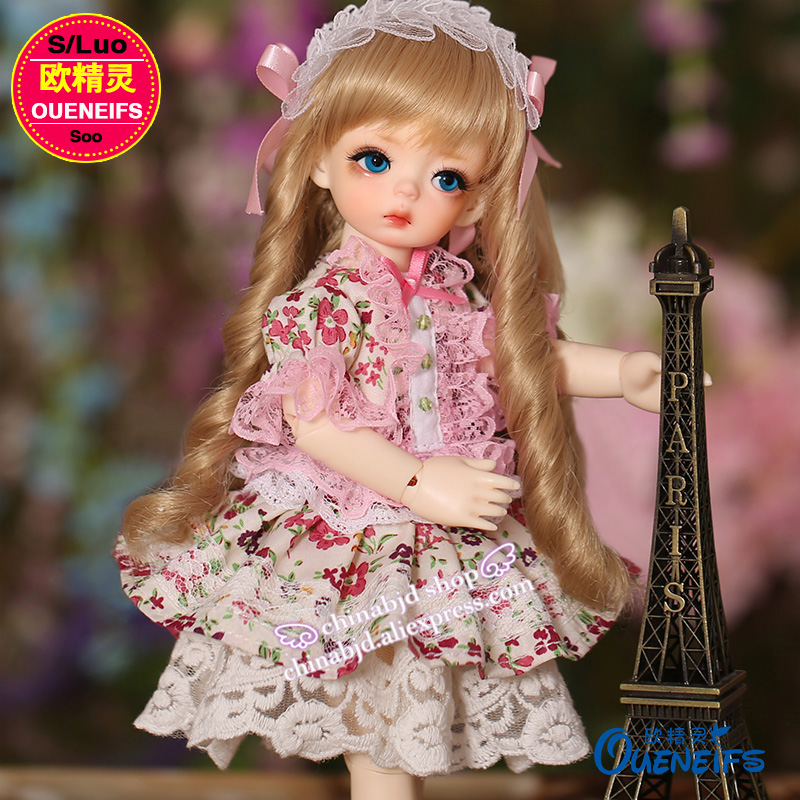 OUENEIFS free shipping fashion floral dress lace bow 1/6 bjd sd doll customization body clothes ,have not doll or wig YF6 to 122 1 6 batman joker heath ledger mask headsculpt for 12inch doll parts body clothes and body are not included
