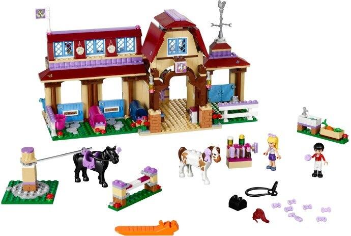 Filles briques coeur équitation Club blocs de construction 594 pièces enfants modèle briques jouets compatibles avec Lego 41126 amis meilleur cadeau