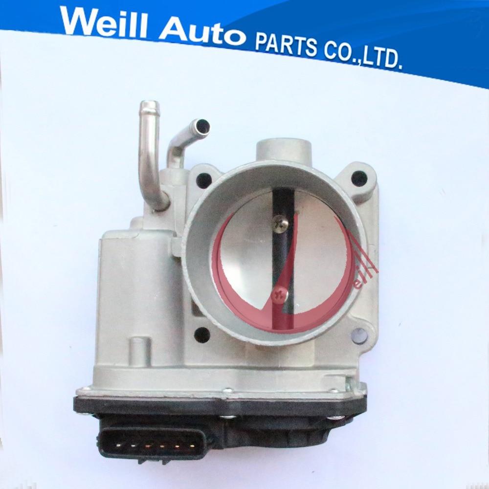 60mm Bore Diameter Case For Tacoma 2TR Toyota Prado Electronic Throttle Body Valve 22030-75020 цены