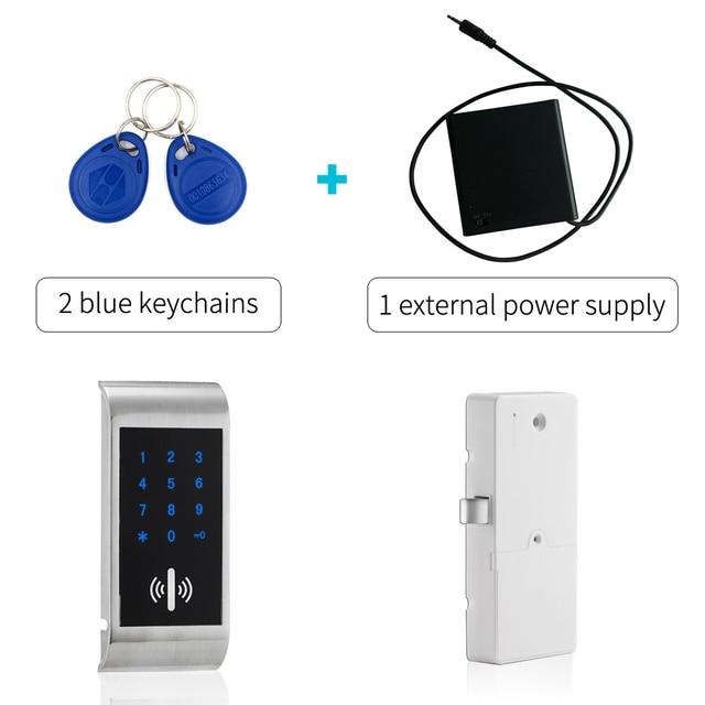 Keyless Gym Locker Lock Electronic RFID Changing Room Locker Locks Rfid Filing  Cabinet Lock Gym Lock