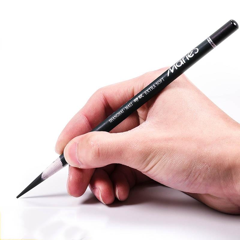 Marie's sketch уголь специальный мягкий Средний твердый художественный специальный легкий для резки бумаги карбоновый уголь карандаш принадлежн...