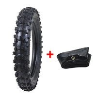 Genuine TDPRO 70/100 12 Motorcycle Bike Tire Tyre Come With Tube PIT Dirt Bike Off road Supermoto Wheel Tyres