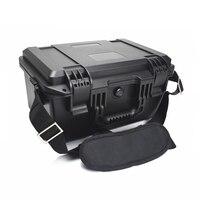 플라스틱 봉인 된 방수 안전 장비 케이스 스폰지와 휴대용 악기 도구 상자 건조 상자 야외 장비|공구 케이스|도구 -