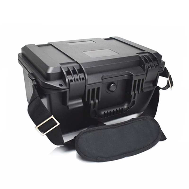 Plastic Sealed Waterproof Safety Equipment Case Portable Instrument Tool Box Dry Box Outdoor Equipment With Sponge