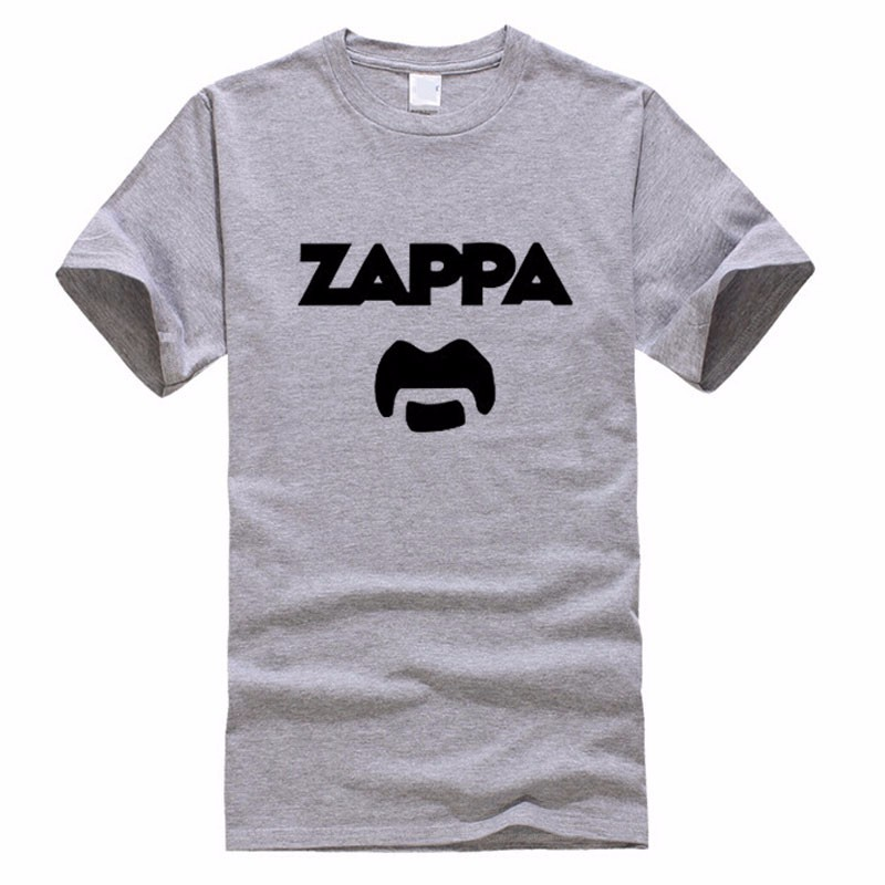 2019 Summer Fashion Eccentric Rock Icon Frank Zappa Funny Print T shirts Men Casual Short Sleeve T Shirts Top Tees Tshirts in T Shirts from Men 39 s Clothing