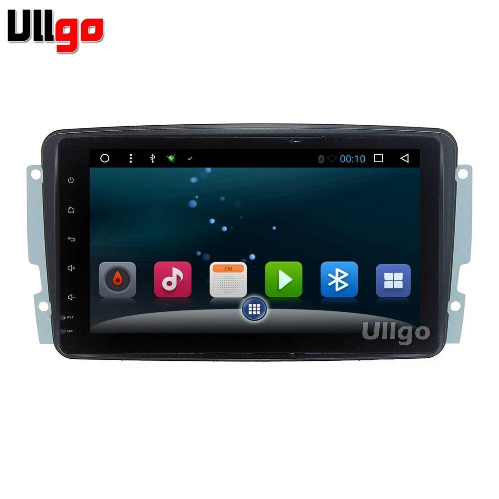 9 pouces Android tête de voiture unité pour Mercedes Benz Viano Vito W203 W209 G classe W463 Autoradio GPS voiture stéréo Navi