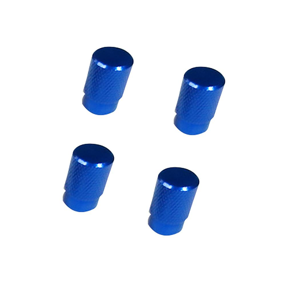 4Pcs/set Universal Solid Color Auto Bicycle Car Wheel Tire Valve Caps Dust Cover