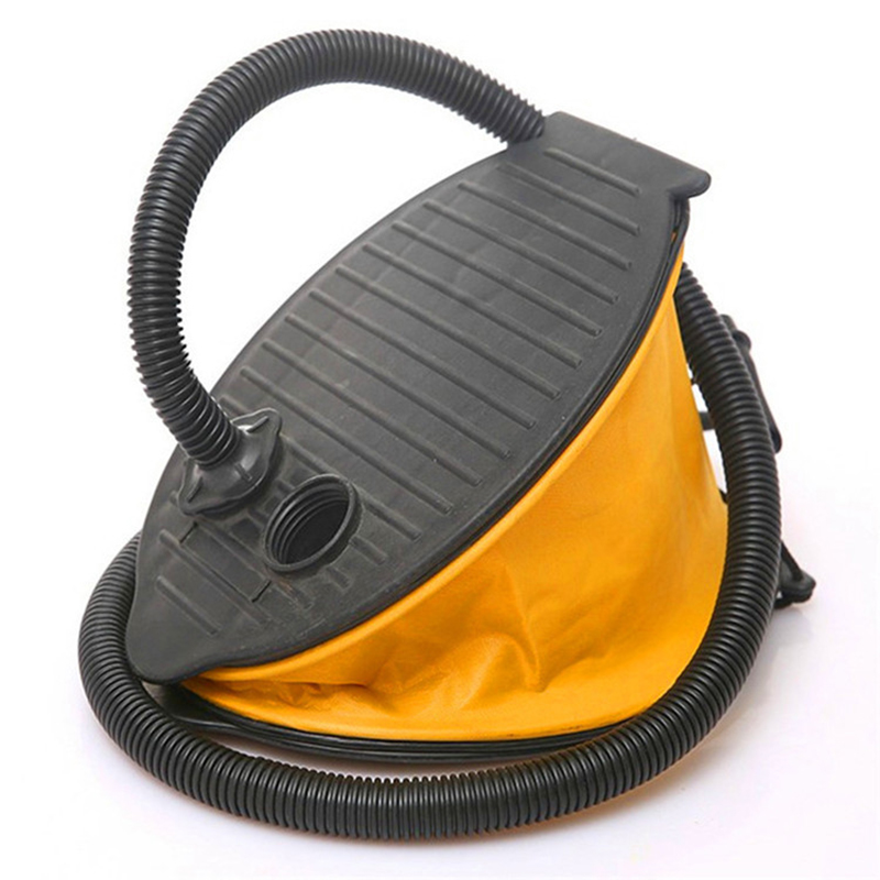 Portable Inflatable Boat Kayak Foot Pump Raft High Pressure Foot Pump Air Pump 58mm Long Hose Adaptor For Drifting SUP Board