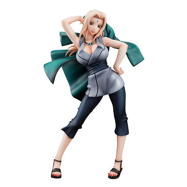 21cm Naruto Sexy Tsunade Action Figure Toys Collection Doll