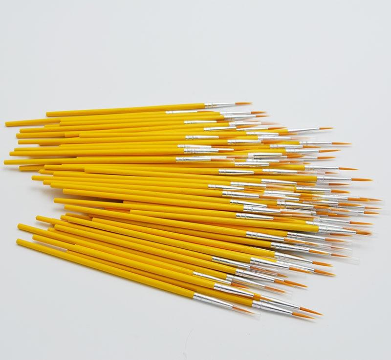 10pcs/set Long Tail Hook Line Pen Painting Brush Art Supplies Tool Art Stationery Watercolor Painting Pen 5
